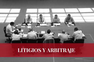 LITIGIOS Y ARBITRAJE - TEMBOURY ABOGADOS