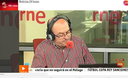 Entrevista a Miguel Temboury en RTVE en 2013 2