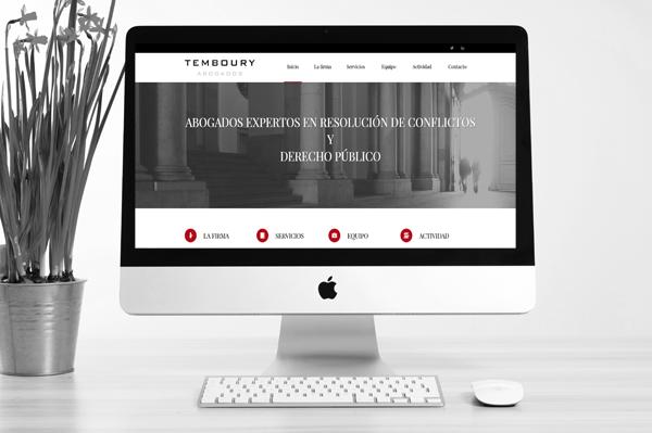 Temboury Abogados estrena nueva web